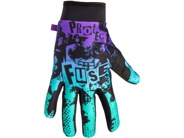 FUSE Chroma Shred Handschuhe purple/teal fade